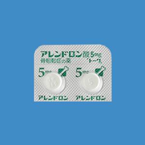 Alendronate阿仑膦酸钠片5mg「東和」:100片