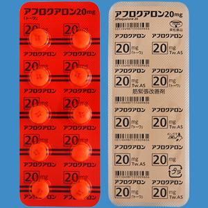 Afloqualone氟喹酮 20mg「東和」:50片