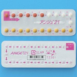 Ange口服避孕药21:1板