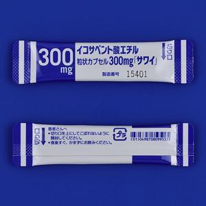 Ethyl Icosapentate二十碳五烯酸乙酯胶囊300mg「沢井」:84包