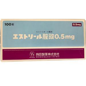 持田Estriel 雌三醇 妇科阴道片0.5mg:100片