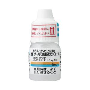 Odomel(氟米龙)氟甲酮悬浮液滴眼液0.1%:5ml×5 支
