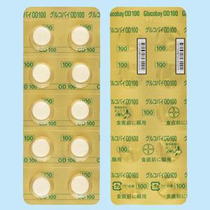 Glicobay阿卡波糖OD口崩片100mg:100片