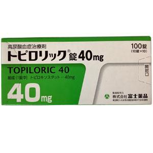 Topiloric托匹司他 痛风 高尿酸血症治疗药40mg:100片