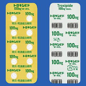 Troxipide曲昔匹特100mg「大原」:100粒