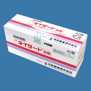 Neisat双氟可龙戊酸酯/利多卡因 坐剂(剧):42个