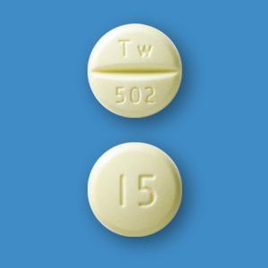 Pioglitazone吡格列酮OD口崩片15mg「東和」(2型):100片