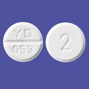 Oxybutynin盐酸奥昔布宁片2mg「YD」:100片(PTP)