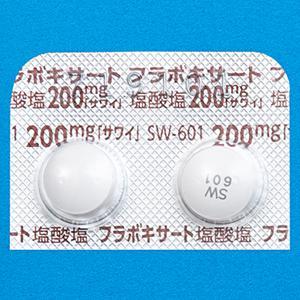 Flavoxate Hydrochloride盐酸黄酮酸酯粒200mg「沢井」:100粒(10粒×10)