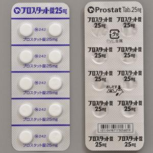 Prostat醋酸氯马酮25mg:100粒