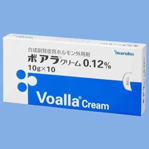 Voalla地塞米松戊酸酯 乳膏0.12%:10g×10支
