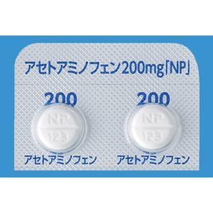 Acetaminophen对乙酰氨基酚片200mg「NP」:100片
