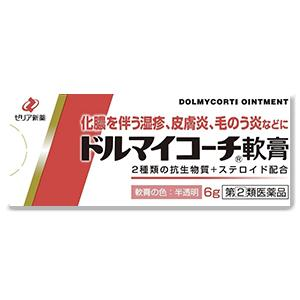 Zeria新药 Dolmycorti湿疹皮炎毛囊炎软膏:6g【2類】