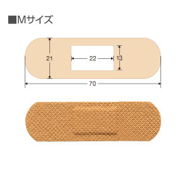 Bichiban救急创可贴防水设计透气好不脱落M号:30枚