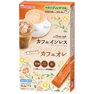 和光堂  妈妈style 牛奶咖啡: 13.6g×7支