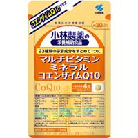小林制药 美容养颜塑性体Q10左旋肉碱片:120粒