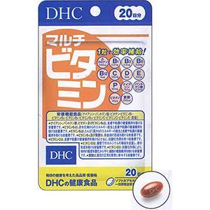 DHC的健康食品复合维生素(20日):20粒