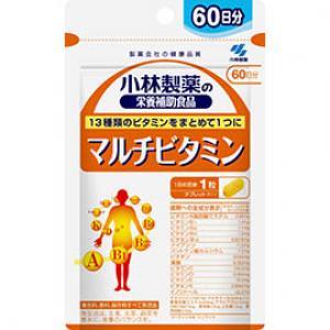 小林制药 多种维生素 :60粒