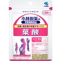 小林制药  叶酸片: 30粒
