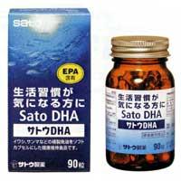佐藤SATO DHA改善生活习惯: 90粒