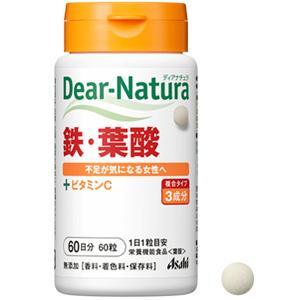 朝日Asahi Dear-Natura补充铁+叶酸:60粒