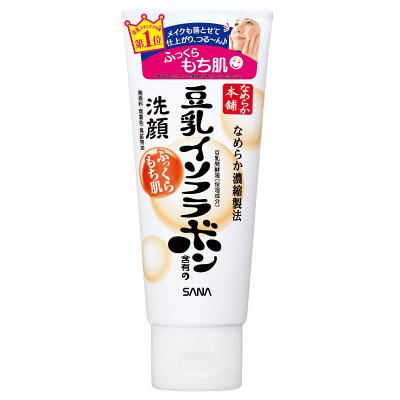 常盤 莎娜SANA 滋润保湿 混合肤质 豆乳美肌卸妆洗面奶:150g