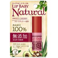 乐敦ROHTO 曼秀雷敦 LipBaby 润唇膏无添加100%食品成分 甜莓:4g