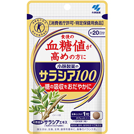 小林制药 五层龙属Salacia100 降血糖机能保健品:60粒