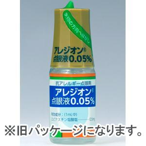 Alesion盐酸依匹斯汀滴眼液0.05%:5ml×1支