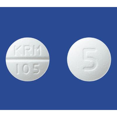 Amlodipine氨氯地平OD口崩片5mg「杏林」:100片