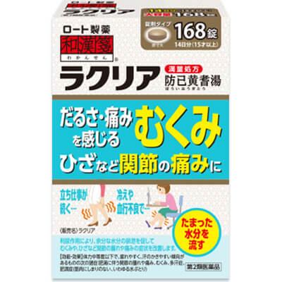日本ROHTO乐敦 Rakuria汉方防己黄耆湯:126粒【2類】