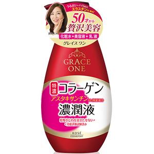 高丝Kose GRACE ONE 浓润保湿乳液【50代】:230ml