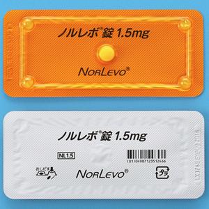 Norlevo左炔诺孕酮 紧急避孕药1.5mg:1片