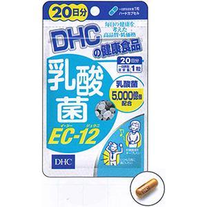 DHC 乳酸菌EC-12 (20日分):20粒
