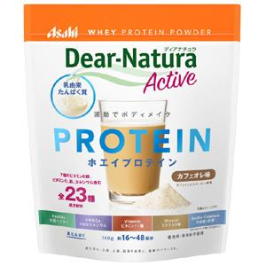 Asahi朝日Dear-Natura SOY大豆蛋白粉代餐粉 牛奶咖啡口味:360g