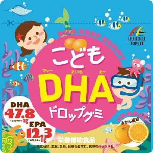 UNIMAT RIKEN 儿童 DHA软糖:82g(約90粒)
