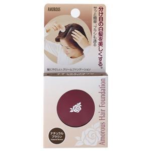 Amorous 美容院用 白发用 头发粉底(自然棕):5g