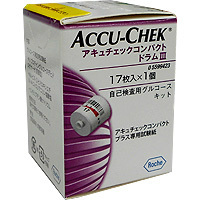 ACCU-CHEK Compact  Drum3实验纸:17枚