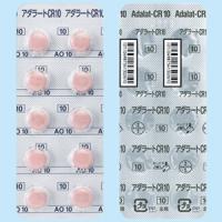 Adalat硝苯地平缓释片CR10mg:100片