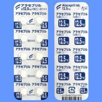 Alacepril阿拉普利12.5mg「日医工」:100片