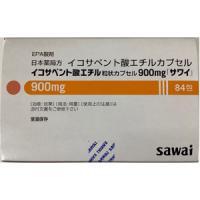 Ethyl Icosapentate二十碳五烯酸乙酯胶囊胶囊900mg「沢井」:84包