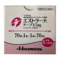Estrana雌二醇 贴片0.72mg:70枚