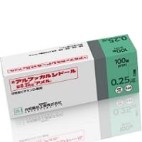 Alfacalcidol阿法骨化醇片0.25μg「AMEL」(剧):100片