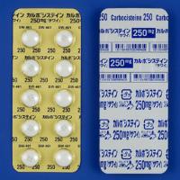 Carbocisteine L-羧甲基半胱氨酸250mg「沢井」:100片