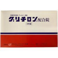 Glycyron复方甘草酸单铵/甘氨酸/DL-蛋氨酸片:500片