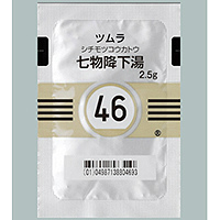 Tsumura七物降下汤精华颗粒 2.5g(46):42包(14日分)