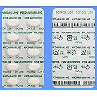 Dopacol左旋多巴/卡比多巴复合片L100:100粒