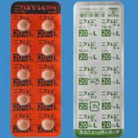Nifedipine L硝苯地平20mg「東和」:100片