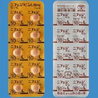 Nifedipine L硝苯地平10mg「東和」:100片