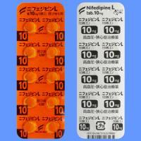 Nifedipine L硝苯地平10mg「日医工」:100片